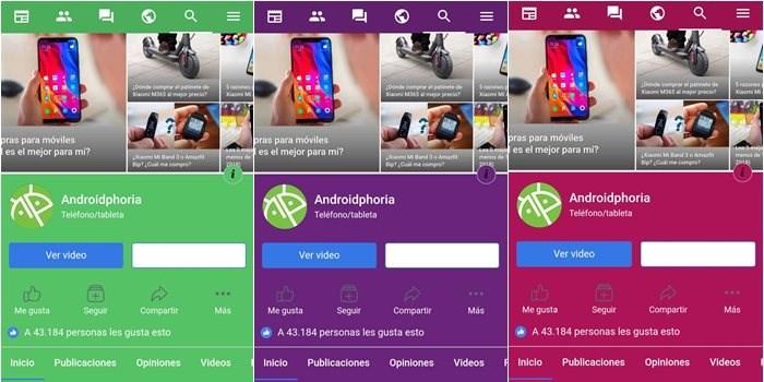 Cómo Cambiar El Color De Facebook En Android